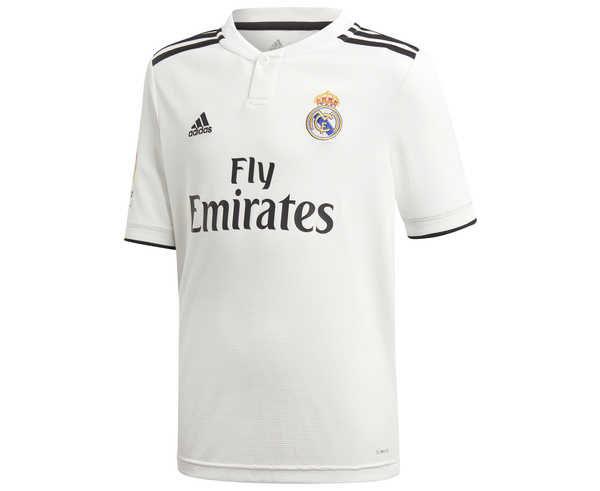 Samarretes Marca ADIDAS Per Nens. Activitat esportiva Futbol, Article: REAL MADRID HOME JERSEY.