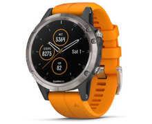 Rellotges Marca GARMIN Per Unisex. Activitat esportiva Electrònica, Article: FENIX 5 PLUS ZAFIRO.
