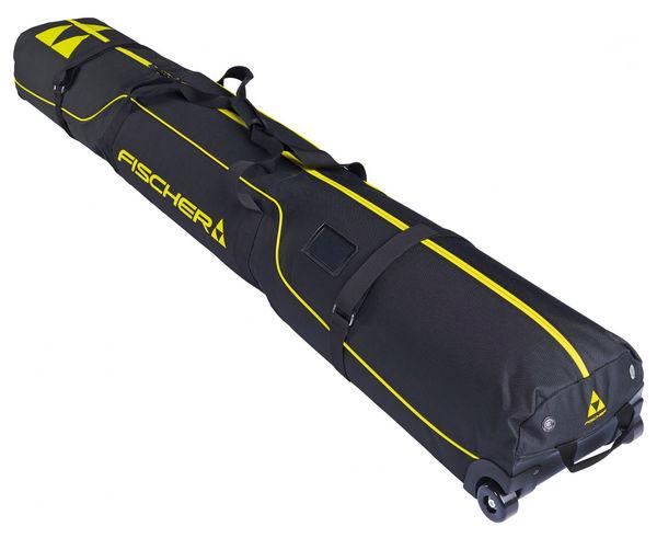 Motxilles-Bosses Marca FISCHER Per Unisex. Activitat esportiva Esquí Race FIS, Article: SKI CASE ALPINE 2 PAIR RACE WHEELS.