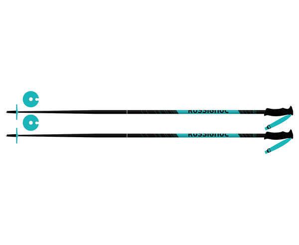 Bastons Marca ROSSIGNOL Para Dona. Actividad deportiva Esquí All Mountain, Artículo: ELECTRA LIGHT.