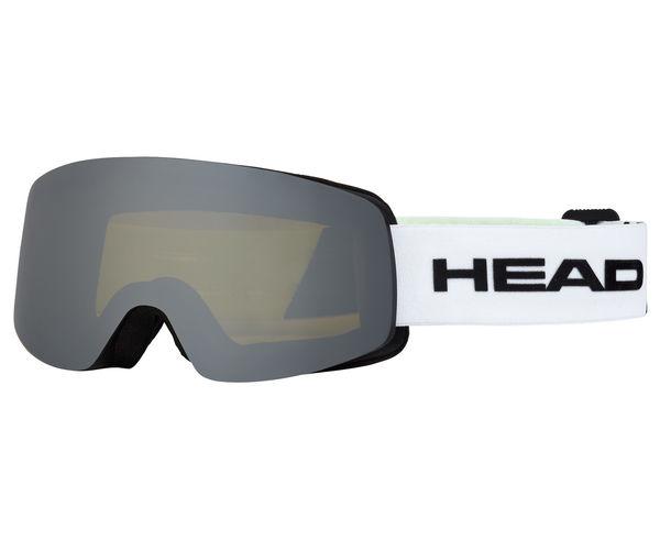 Màscares Marca HEAD Per Unisex. Activitat esportiva Esquí Race FIS, Article: INFINITY RACE WHITE/LIME + SPARELENS.