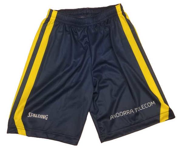 Pantalons Marca BASQUET MORABANC Per Home. Activitat esportiva Bàsquet, Article: MORABANC SHORT 1ERA ACB.