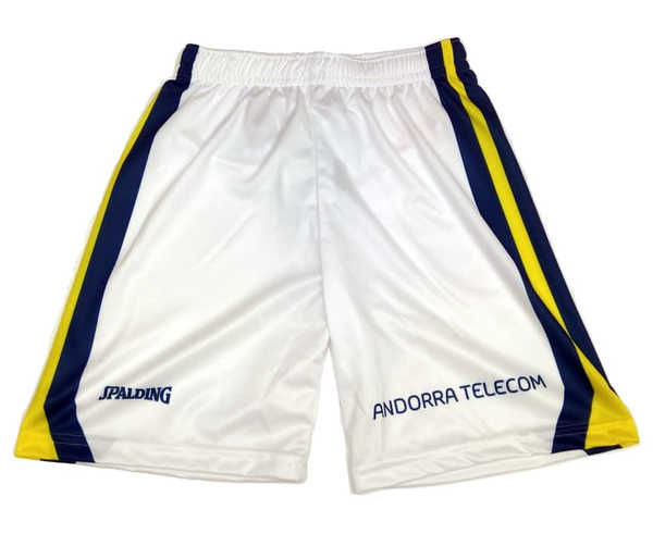 Pantalons Marca BASQUET MORABANC Per Home. Activitat esportiva Bàsquet, Article: MORABANC SHORT 2NDA ACB 18/19.