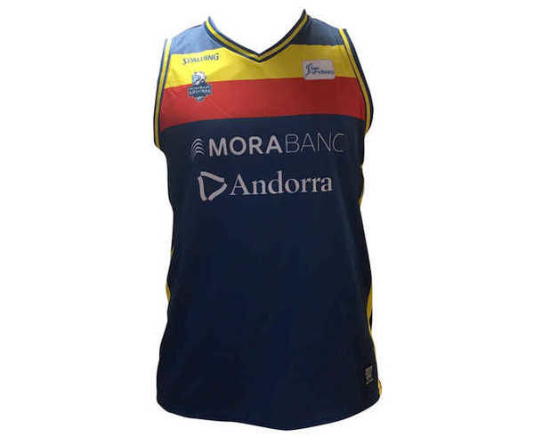 Samarretes Marca BASQUET MORABANC Per Nens. Activitat esportiva Bàsquet, Article: MORABANC TANK TOP 1ERA ACB JR 18/19.
