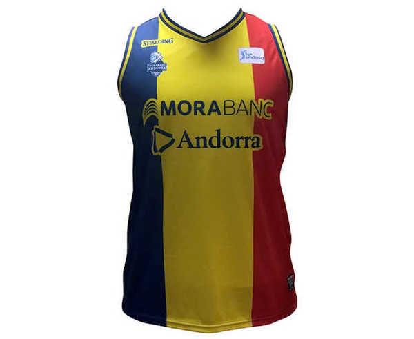 Samarretes Marca BASQUET MORABANC Per Nens. Activitat esportiva Bàsquet, Article: MORABANC TANK TOP 3ERA ACB JR 18/19.