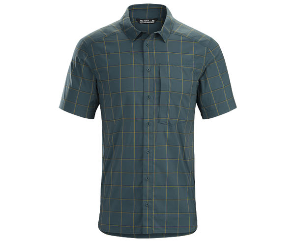 Camises Marca ARC'TERYX Per Home. Activitat esportiva Excursionisme-Trekking, Article: RIEL SHIRT SS.