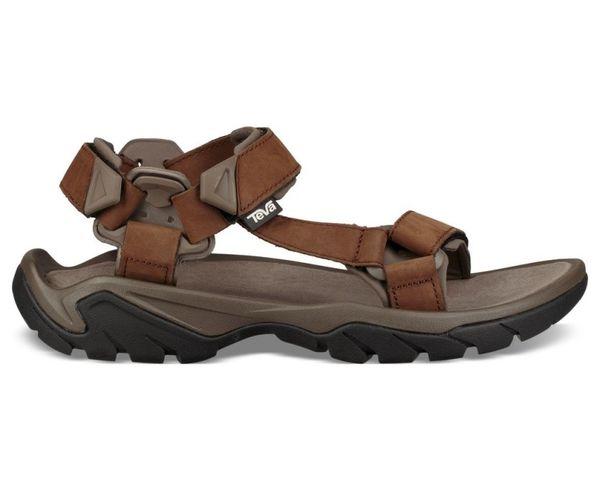 Sandàlies-Xancles Marca TEVA Per Home. Activitat esportiva Excursionisme-Trekking, Article: SANDALIA TERRA FI 5 UNIVERSAL LEATHER.