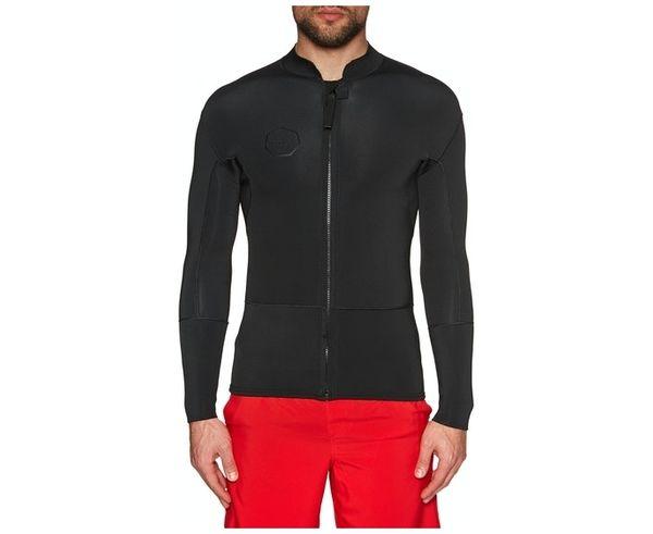 Vestits de Busseig Marca VISSLA Per Home. Activitat esportiva Surf, Article: 2MM FRONT ZIP WETSUIT JACKET.