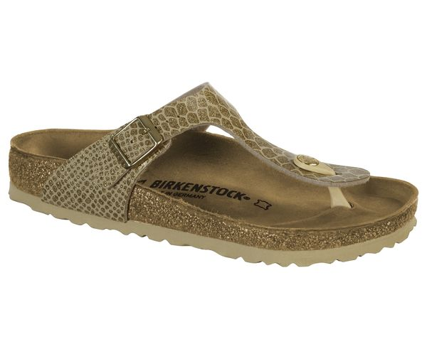 Sandàlies-Xancles _BRAND_ BIRKENSTOCK _FOR_ Dona. _SPORT ACTIVITY_ Casual Style, _ITEM_: GIZEH MAGIC SNAKE.