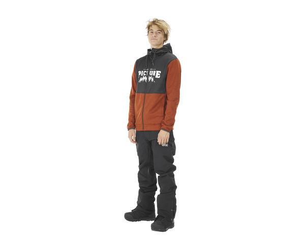 Folres Polars Marca PICTURE Per Home. Activitat esportiva Snowboard, Article: BAXTER ZIP TECH.