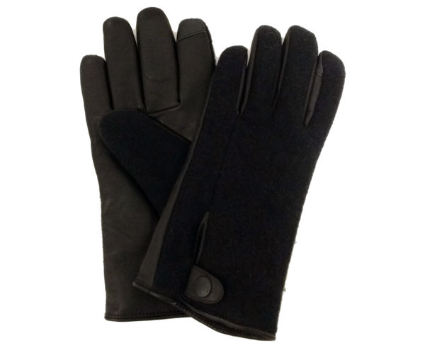 Guants Marca UGG Per Home. Activitat esportiva Street Style, Article: M SNAP TAB FABRIC TECH GLOVE.