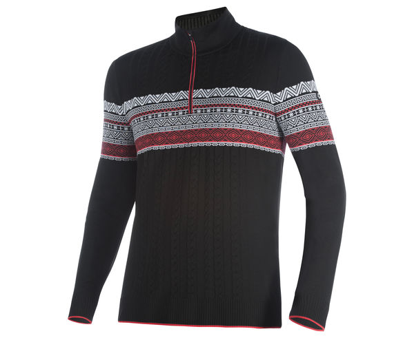 Jerseis Marca NEWLAND Per Home. Activitat esportiva Esquí All Mountain, Article: T-NECK 1/2 ZIP IN DHTECH KNITWEAR.