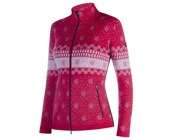 Jerseis Marca NEWLAND Per Dona. Activitat esportiva Esquí All Mountain, Article: THERMOREGULATING KNITTED FULL ZIP IN DHTECH 400.