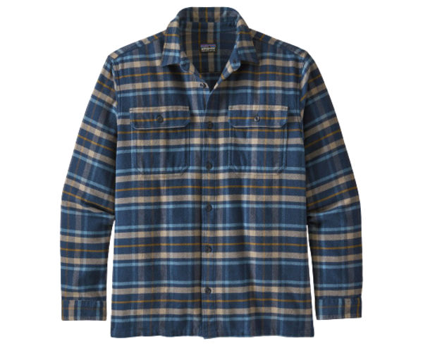 Camises Marca PATAGONIA Per Home. Activitat esportiva Mountain Style, Article: M'S L/S FJORD FLANNEL SHIRT.