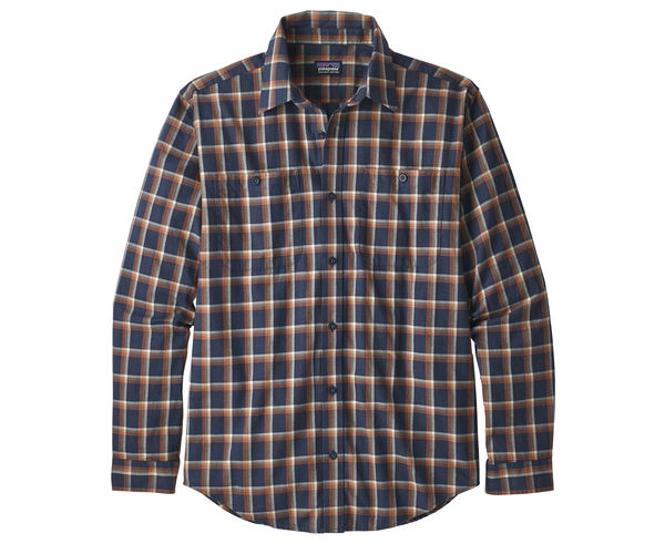 Camises Marca PATAGONIA Per Home. Activitat esportiva Mountain Style, Article: M'S L/S PIMA COTTON SHIRT.