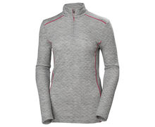 Roba Tèrmica Marca HELLY HANSEN Per Dona. Activitat esportiva Esquí All Mountain, Article: W MERINO MID GRAPHIC 1/2 ZIP.