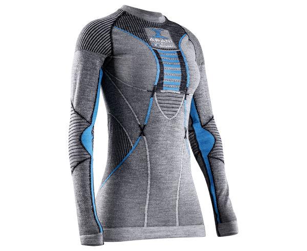 Roba Tèrmica Marca X-BIONIC Per Dona. Activitat esportiva Esquí Muntanya, Article: T-SHIRT APANI 4.0 MERINO L/S W'S.