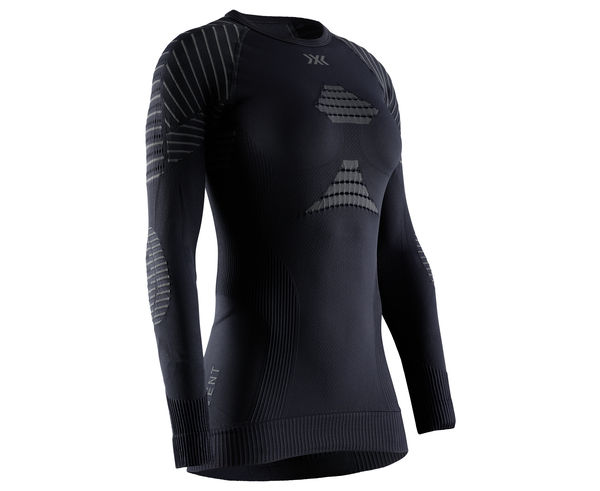 Roba Tèrmica Marca X-BIONIC Per Dona. Activitat esportiva Esquí Muntanya, Article: T-SHIRT INVENT L/S W'S.
