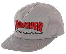 Complements Cap Marca THRASHER Per Home. Activitat esportiva Street Style, Article: OUTLINED SNAPBACK.
