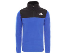 Folres Polars Marca THE NORTH FACE Per Nens. Activitat esportiva Excursionisme-Trekking, Article: Y GLACIER BLOCKED 1/4 ZIP.