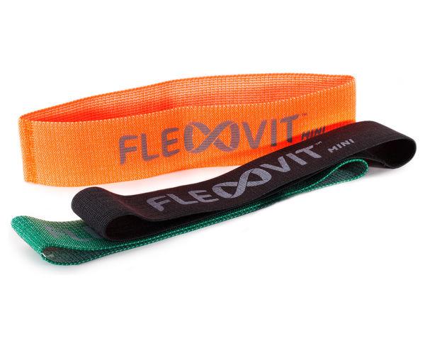 Bandes Elàstiques Marca FLEXVIT Per Unisex. Activitat esportiva Fitness, Article: FLEXVIT MINI SET OF 3.