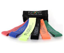 Bandes Elàstiques Marca FLEXVIT Per Unisex. Activitat esportiva Fitness, Article: FLEXVIT MINI SET OF 6.