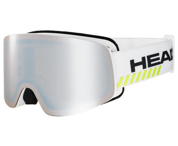 Màscares Marca HEAD Per Unisex. Activitat esportiva Esquí Race FIS, Article: INFINITY RACE+ WHITE+ SPARE.
