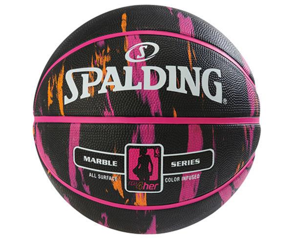 Pilotes Marca SPALDING Per Dona. Activitat esportiva Bàsquet, Article: NBA MARBLE 4HER OUT.
