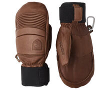 Manoples Marca HESTRA Per Unisex. Activitat esportiva Esquí All Mountain, Article: LEATHER FALL LINE MITT.