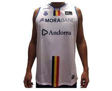 Samarretes Marca BASQUET MORABANC Per Nens. Activitat esportiva Bàsquet, Article: MORABANC TANK TOP 2NDA ACB JR.