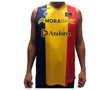 Samarretes Marca BASQUET MORABANC Per Nens. Activitat esportiva Bàsquet, Article: MORABANC TANK TOP 3ERA ACB JR.