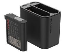 Bateries-Carregadors Marca GARMIN Per Unisex. Activitat esportiva Electrònica, Article: DUAL BATTERY CHARGER (VIRB® ULTRA).