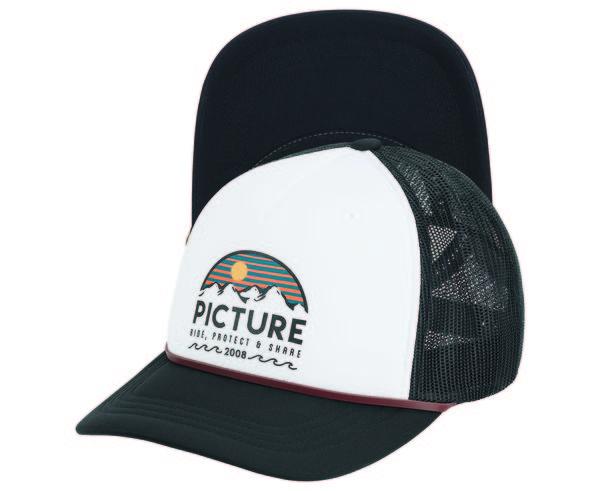 Complements Cap Marca PICTURE Per Unisex. Activitat esportiva Street Style, Article: KULDO TRUCKER CAP PK X3.