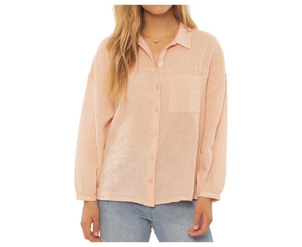 Camises Marca SISSTREVOLUTION Per Dona. Activitat esportiva Street Style, Article: TUCKED AWAY WOVEN TOP.