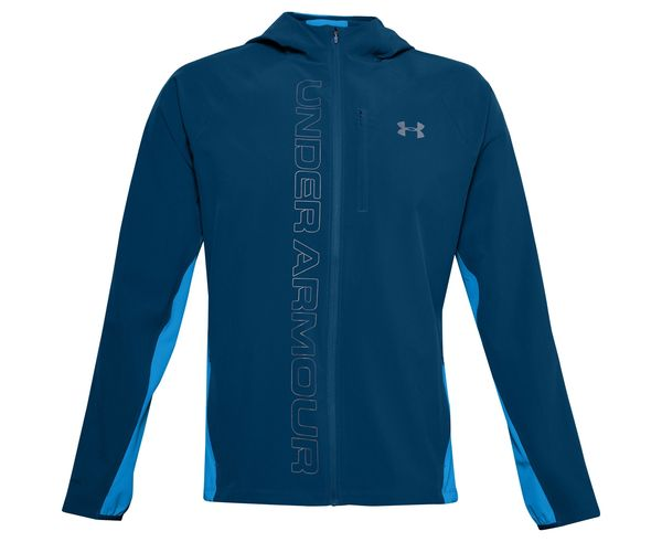 Jaquetes Marca UNDER ARMOUR Per Home. Activitat esportiva Running carretera, Article: M QLIFIER OUTRUN THE STOR.