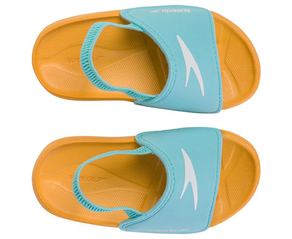 Sandàlies-Xancles Marca SPEEDO Per Nens. Activitat esportiva Natació, Article: LEARN TO SWIM SLIDE/ORA.