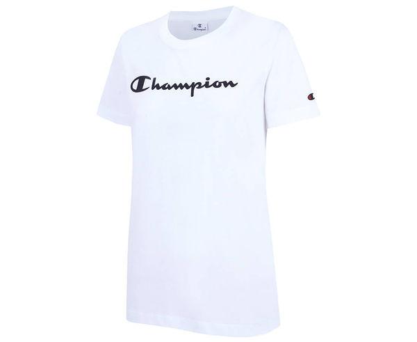 Samarretes Marca CHAMPION Per Dona. Activitat esportiva Casual Style, Article: CREWNECK T-SHIRT 112602.