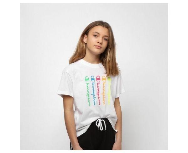 Samarretes Marca CHAMPION Per Nens. Activitat esportiva Casual Style, Article: CREWNECK T-SHIRT 403836.