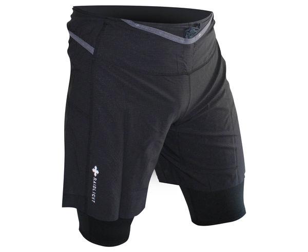 Pantalons Marca RAIDLIGHT Per Home. Activitat esportiva Trail, Article: RESPONSIV 2IN1 SHORT.