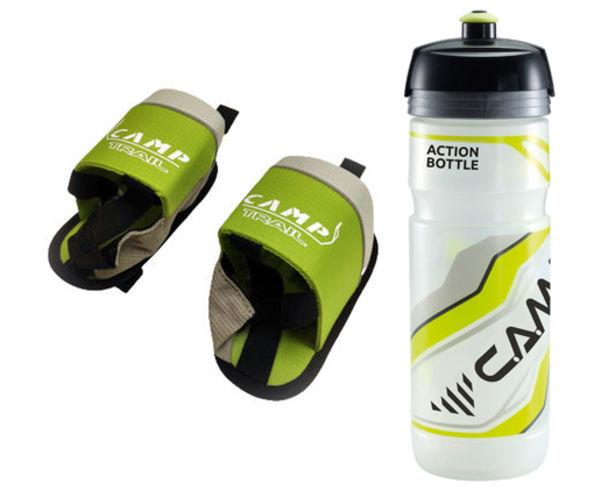 Hidratació Marca CAMP Per Unisex. Activitat esportiva Trail, Article: BOTTLE HOLDER 0.75L TUBE+ACTION BOTTLE.