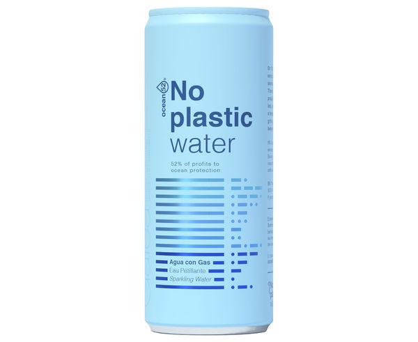 Begudes Marca OCEAN 52 Activitat esportiva Nutrició i Cuidats, Article: NO PLASTIC WATER.