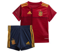 Samarretes Marca ADIDAS Per Nens. Activitat esportiva Futbol, Article: SPAIN HOME BABY KIT.