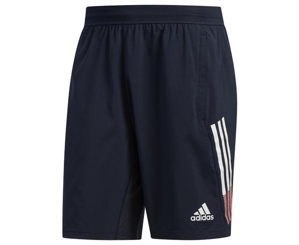 Pantalons Marca ADIDAS Per Home. Activitat esportiva Fitness, Article: 4KRFT 3-STRIPES 9-INCH SHORTS.