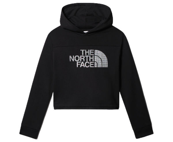 Dessuadores Marca THE NORTH FACE Per Nens. Activitat esportiva Mountain Style, Article: GIRL'S CROPPED HOODIE.
