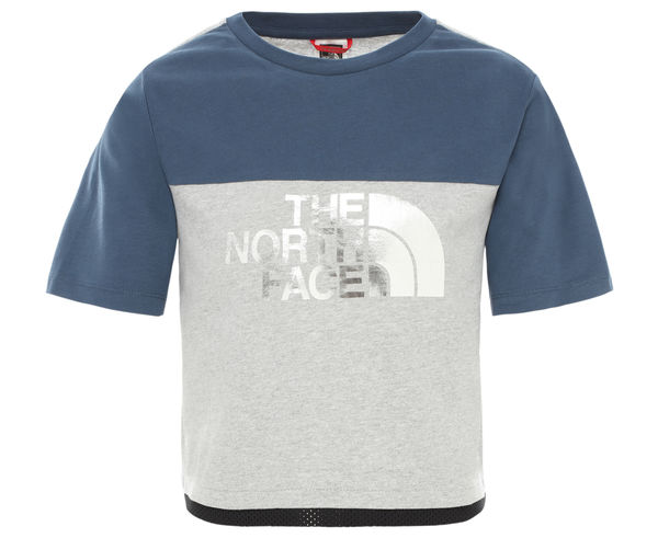 Samarretes Marca THE NORTH FACE Per Nens. Activitat esportiva Excursionisme-Trekking, Article: G CROPPED S/S TEE.