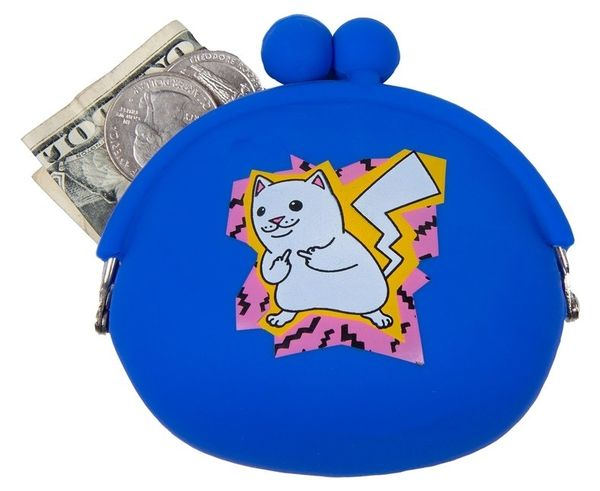 Motxilles-Bosses Marca RIPNDIP Per Unisex. Activitat esportiva Street Style, Article: CATCH EM ALL RUBBER COIN.