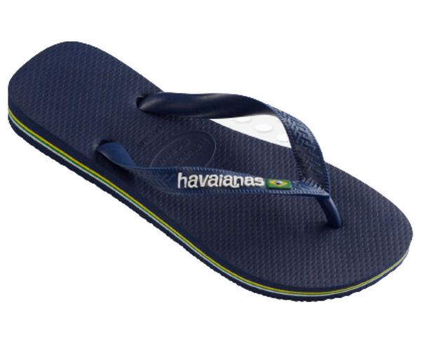 Sandàlies-Xancles Marca HAVAIANAS Per Home. Activitat esportiva Surf, Article: BRASIL LOGO.
