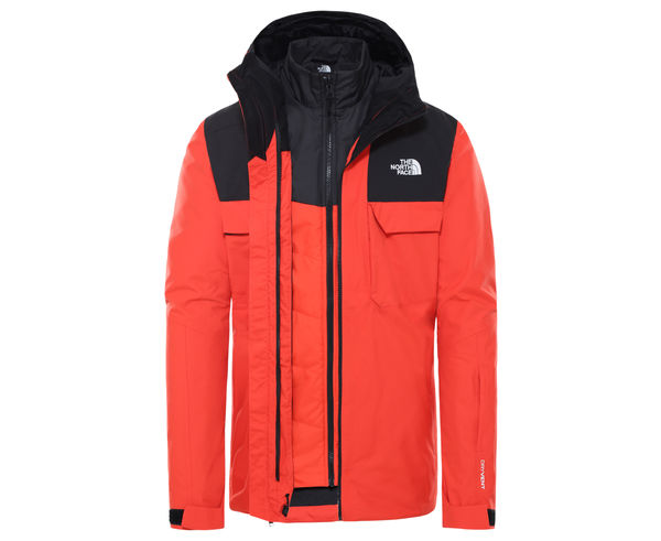 Jaquetes Marca THE NORTH FACE Per Home. Activitat esportiva Excursionisme-Trekking, Article: MEN'S FOURBARREL TRICLIMATE.