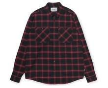 Camises Marca CARHARTT Per Home. Activitat esportiva Street Style, Article: L/S DARREN SHIRT.