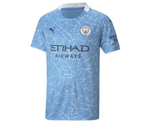 Samarretes Marca PUMA Per Nens. Activitat esportiva Futbol, Article: CITY HOME REPLICA YOUTH JERSEY.